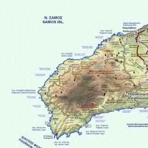 drakei samos map