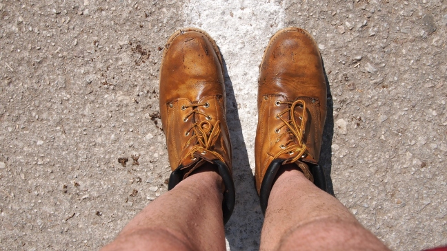 MY ITALIAN DESIGNER BOOTS FROM BAUHAUSONI WERE RUINED, AFTER MY VISIT. I WAS VERY ANGRY ABOUT GREECE.